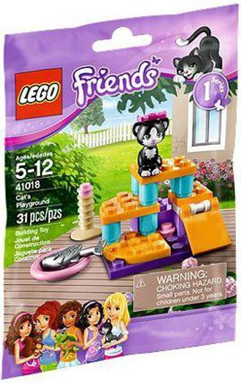 LEGO Friends Cat's Playground Mini Set #41018 [Bagged]