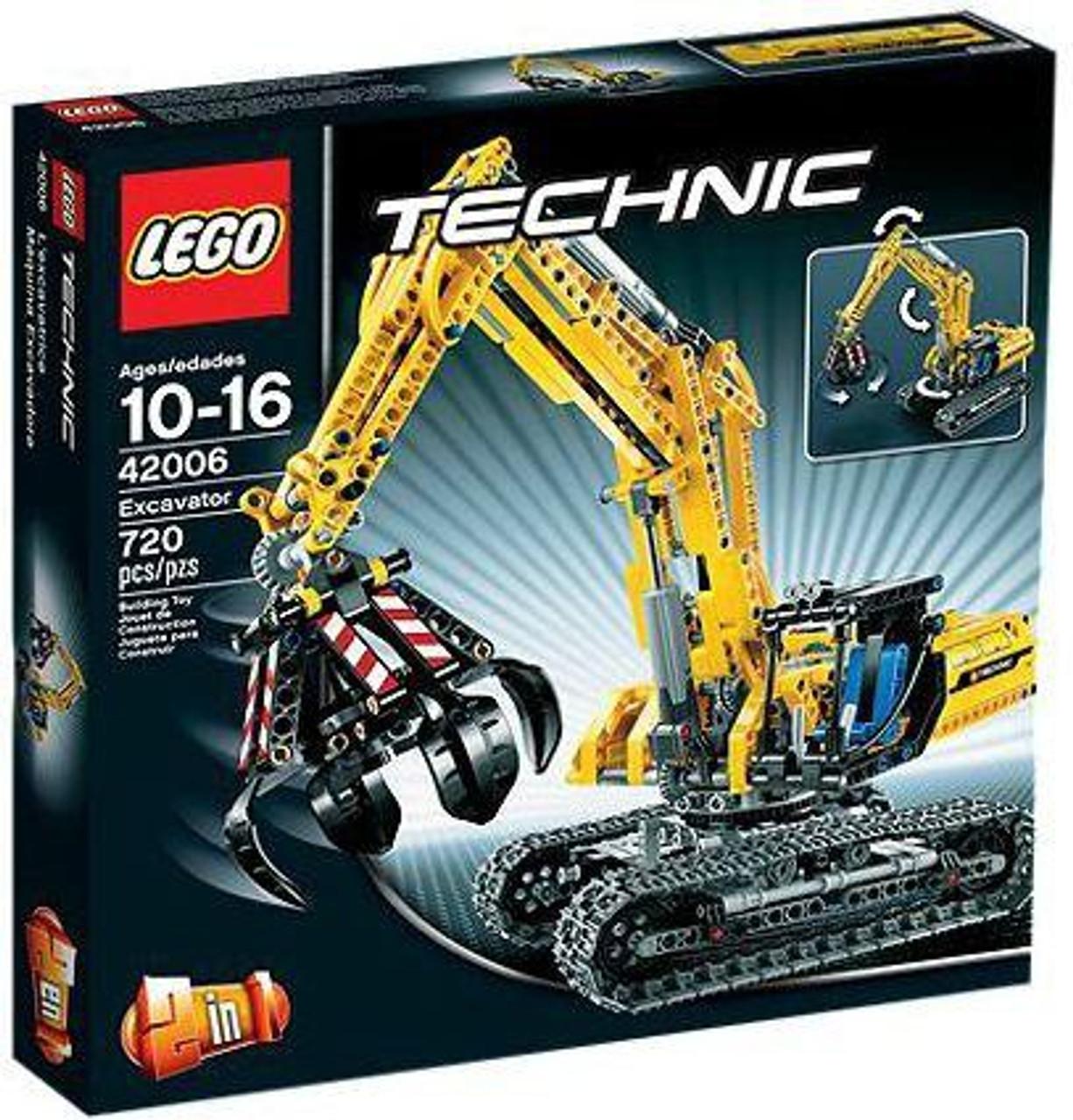 LEGO Technic Excavator Set #42006