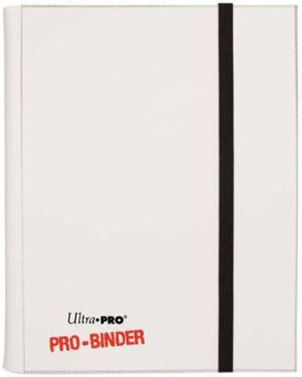 Ultra Pro Card Supplies Pro-Binder White 4-Pocket Binder