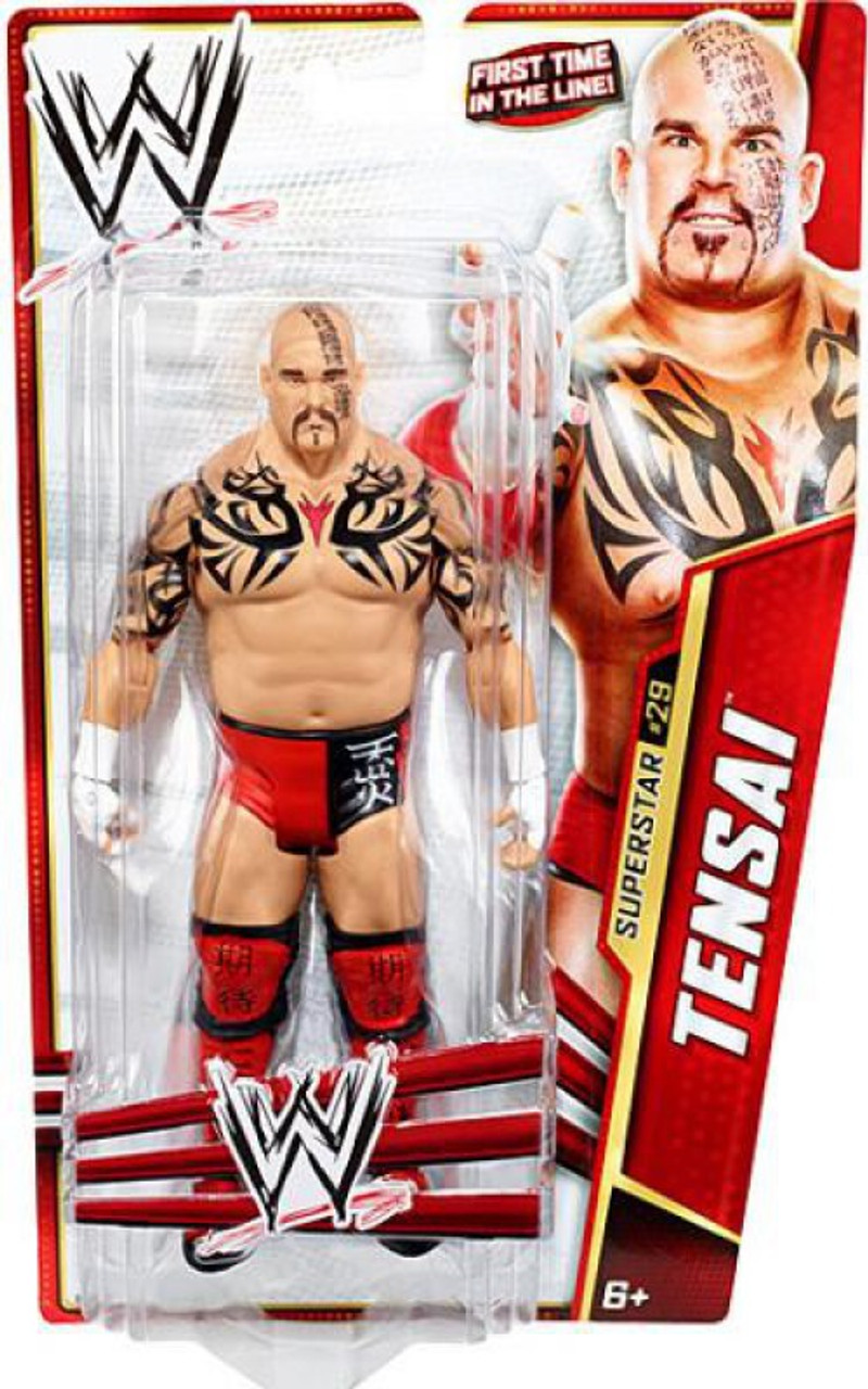 WWE Wrestling Series 28 Tensai Action Figure #29