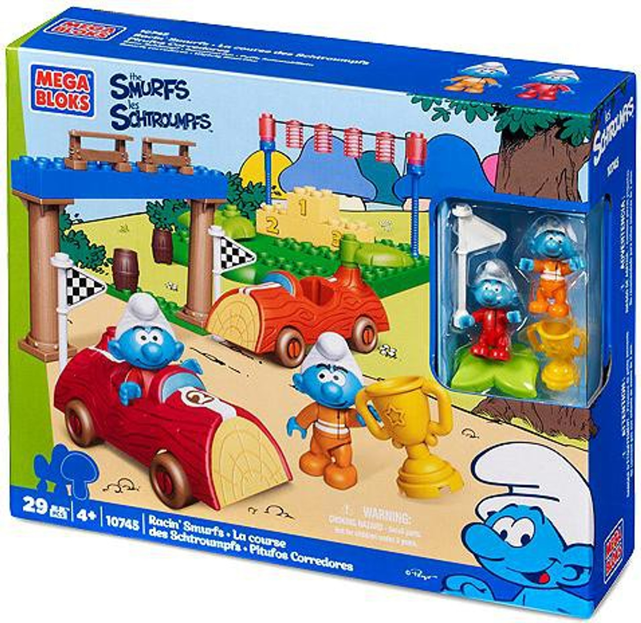 Mega Bloks The Smurfs Smurf Race Set #10745