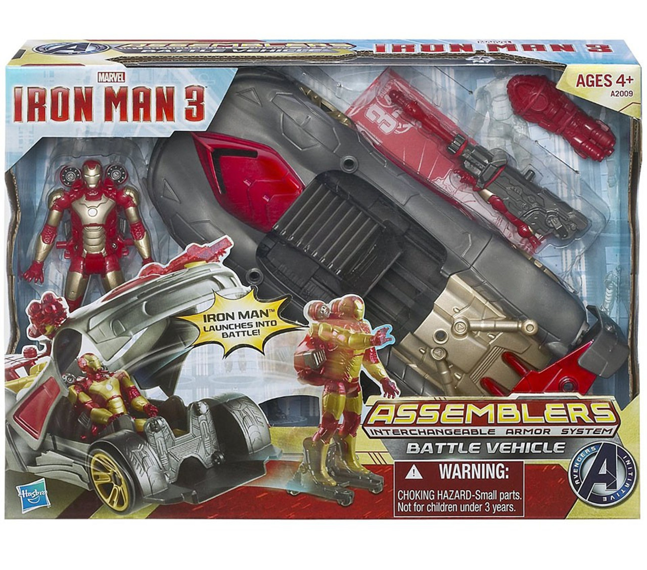 Iron Man 3 Assemblers Interchangeable Armor System Battle Vehicle Action Figure Vehicle