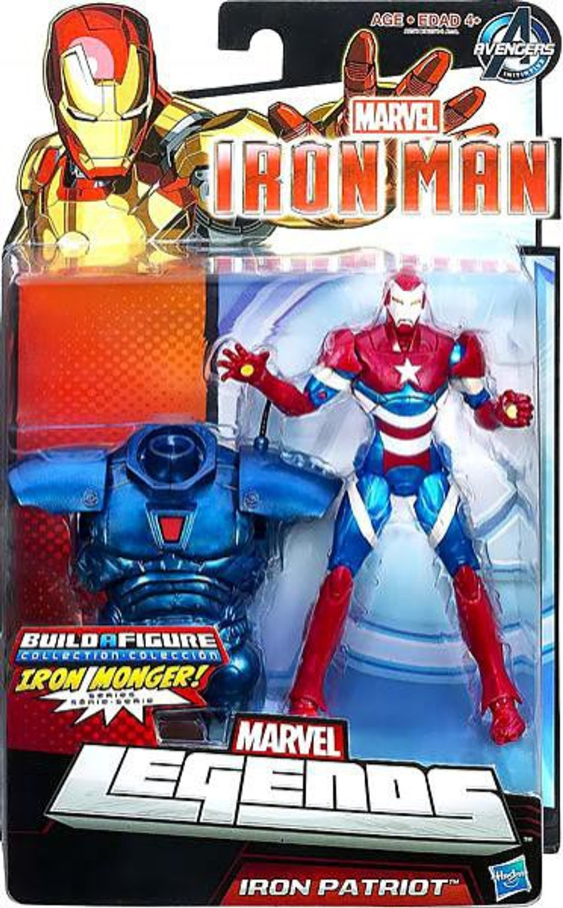 Marvel Legends Iron Monger Series Iron Patriot Action Figure