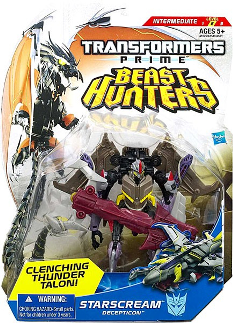 Transformers Prime Beast Hunters Starscream Deluxe Action Figure