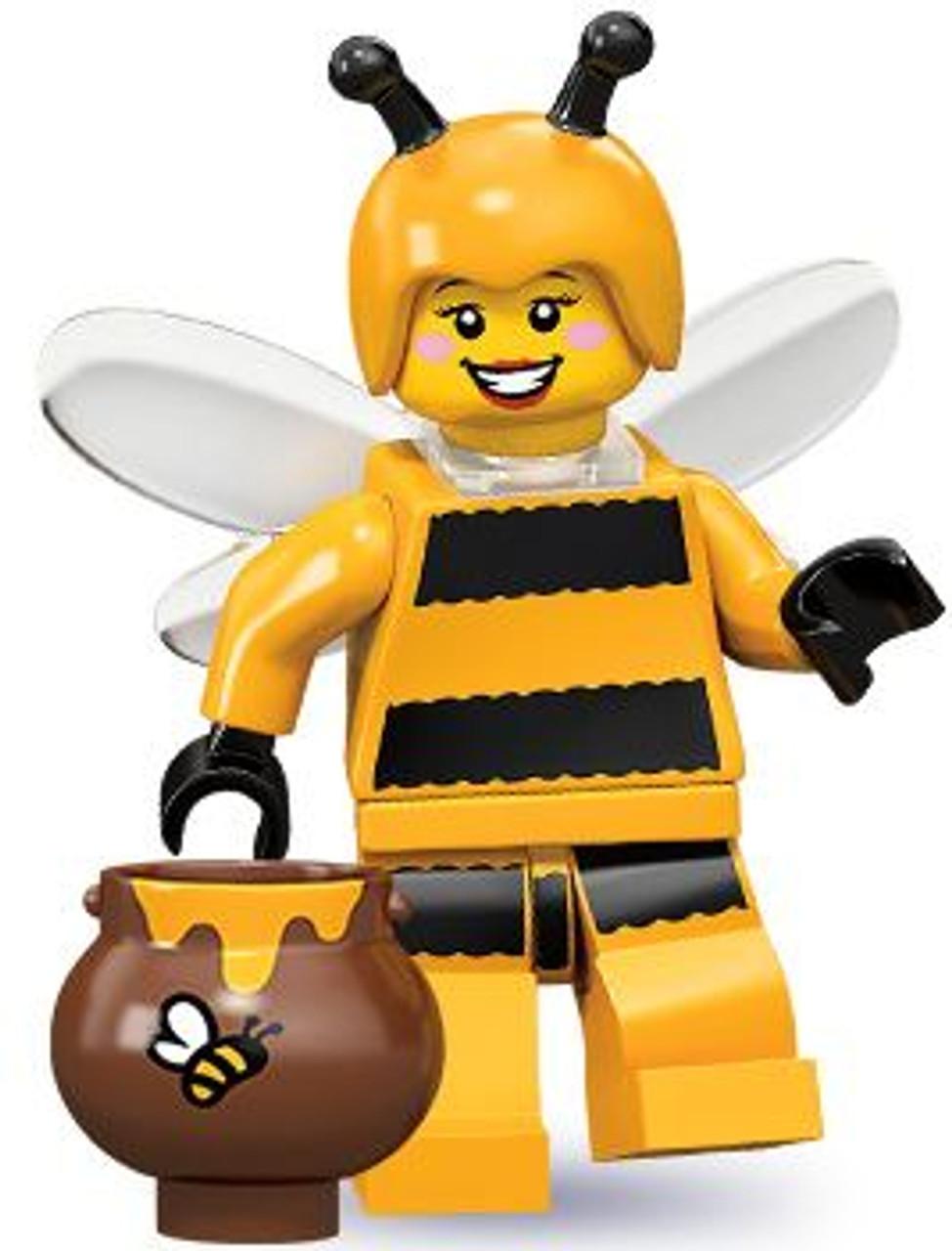 LEGO Minifigures Series 10 Bumblebee Girl Minifigure [Loose]