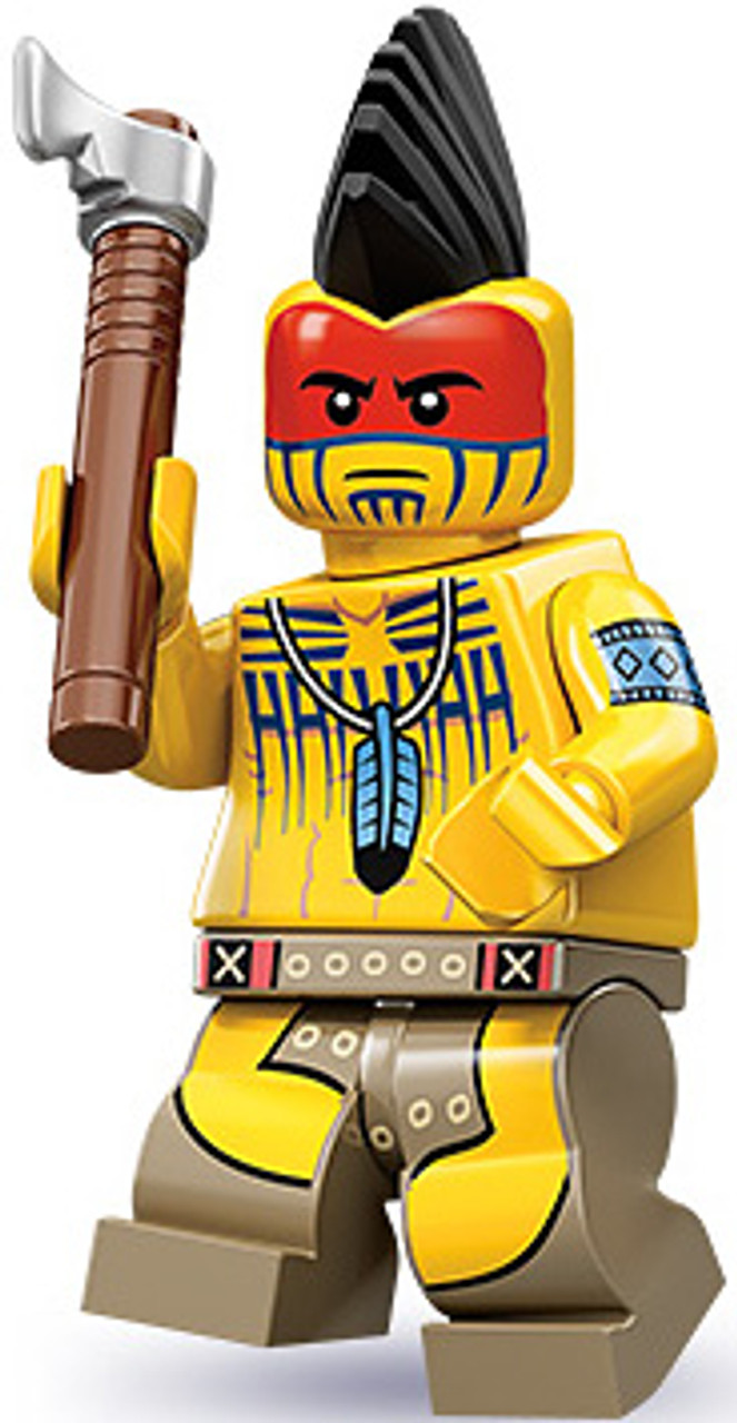 LEGO Minifigures Series 10 Tomahawk Warrior Minifigure [Loose]