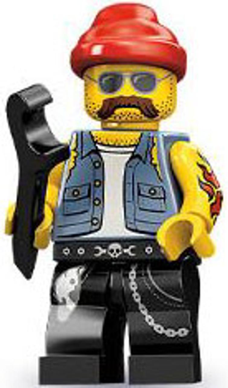 LEGO Minifigures Series 10 Motorcycle Mechanic Minifigure [Loose]