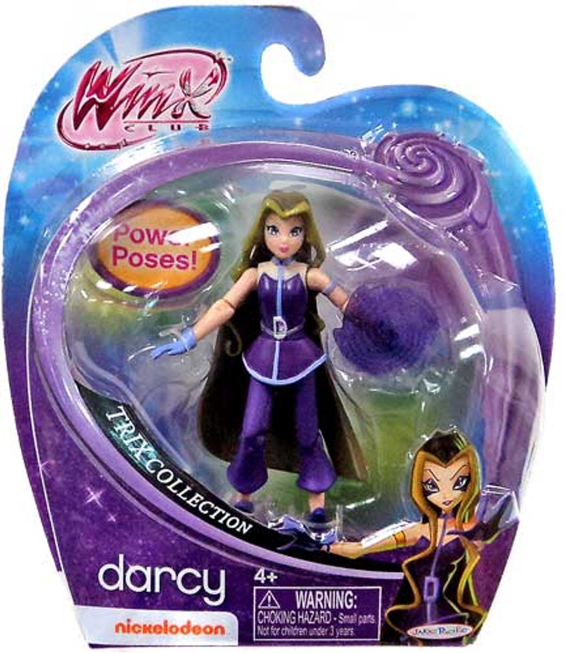 Winx Club Trix Collection Darcy 3.75-Inch Doll Figure