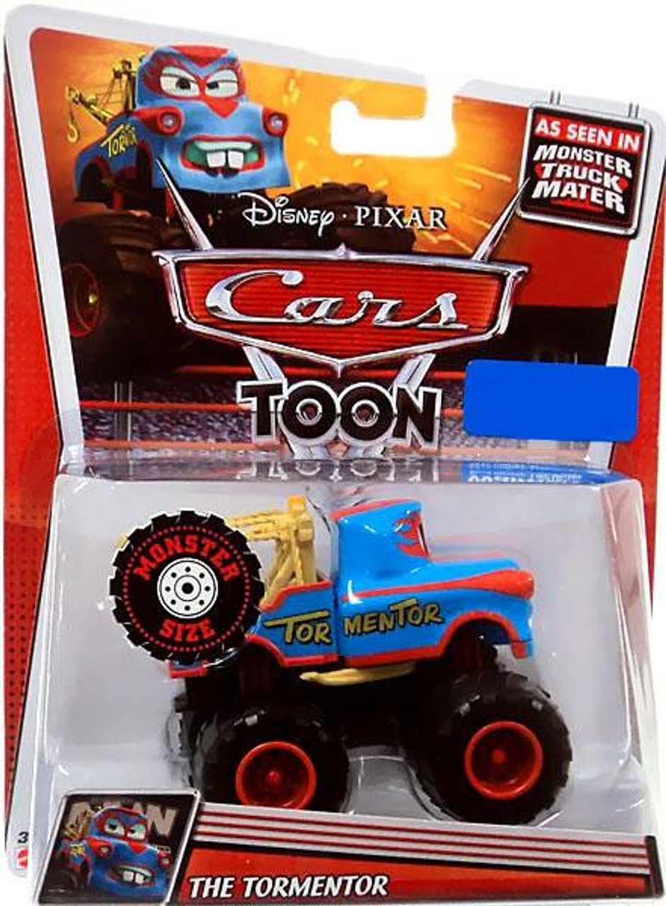 Disney Cars Cars Toon Deluxe Oversized The Tormentor Exclusive Diecast Car