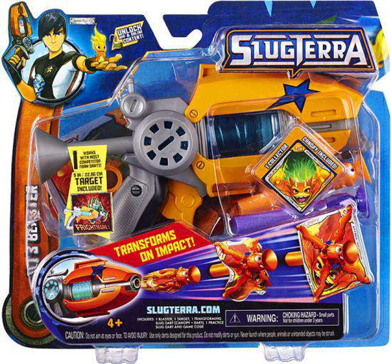 Slugterra Blaster & Evo Dart Eli's Blaster Exclusive Roleplay Toy [Entry]
