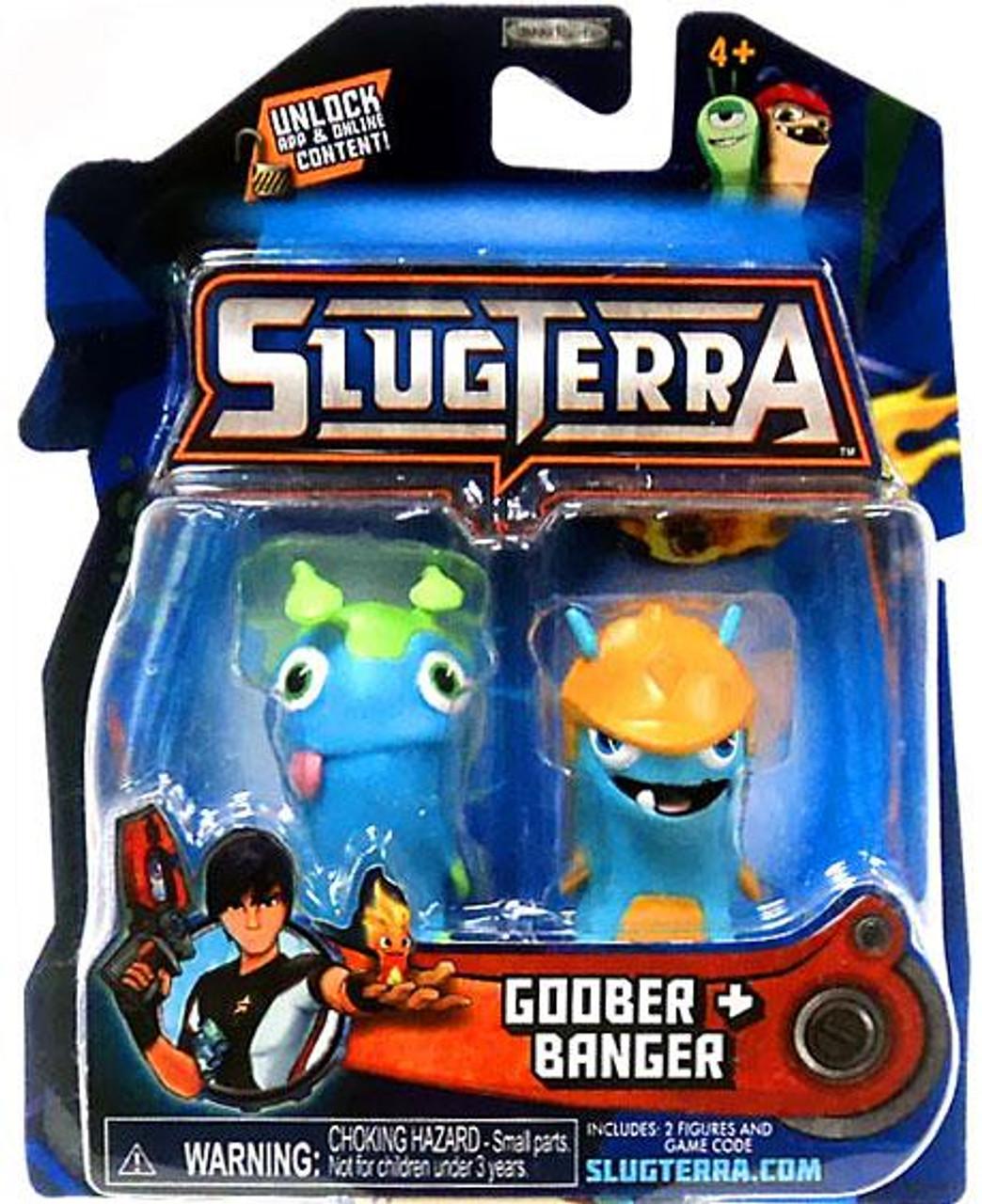 Slugterra Series 1 Goober & Banger Mini Figure 2-Pack