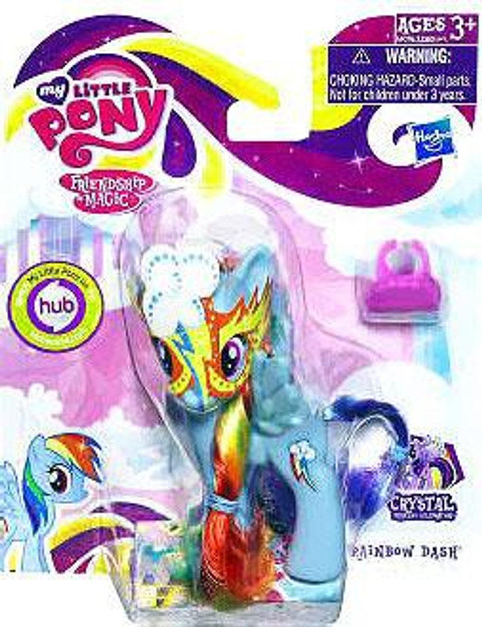 My Little Pony Friendship is Magic Crystal Empire Masquerade Rainbow Dash Figure