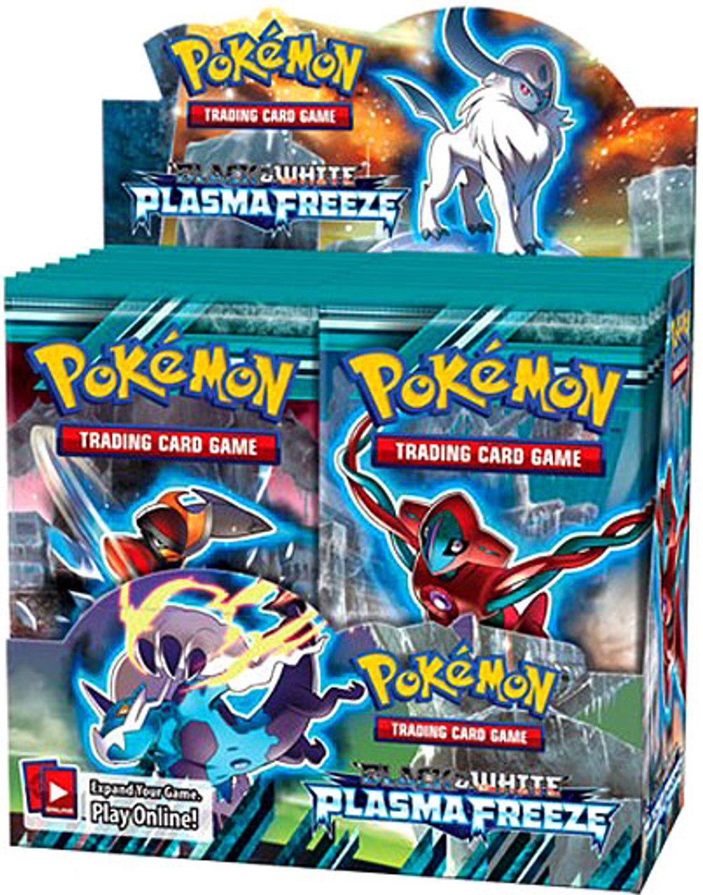 Pokemon Black & White Plasma Freeze Booster Box [36 Packs]