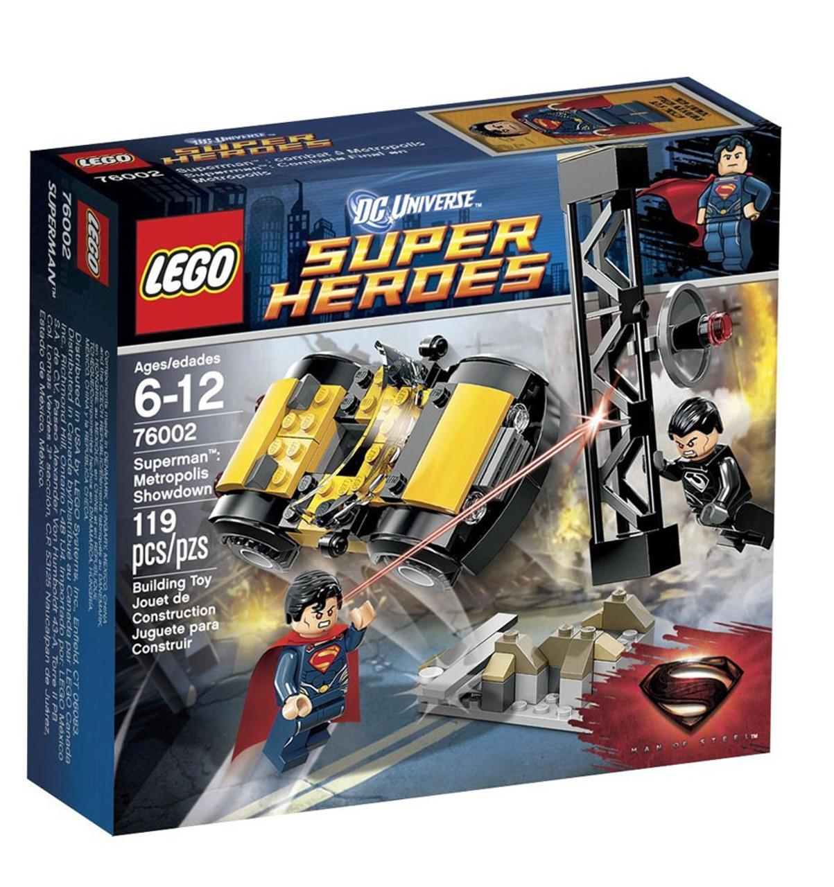 LEGO DC Universe Super Heroes Superman: Metropolis Showdown Set #76002