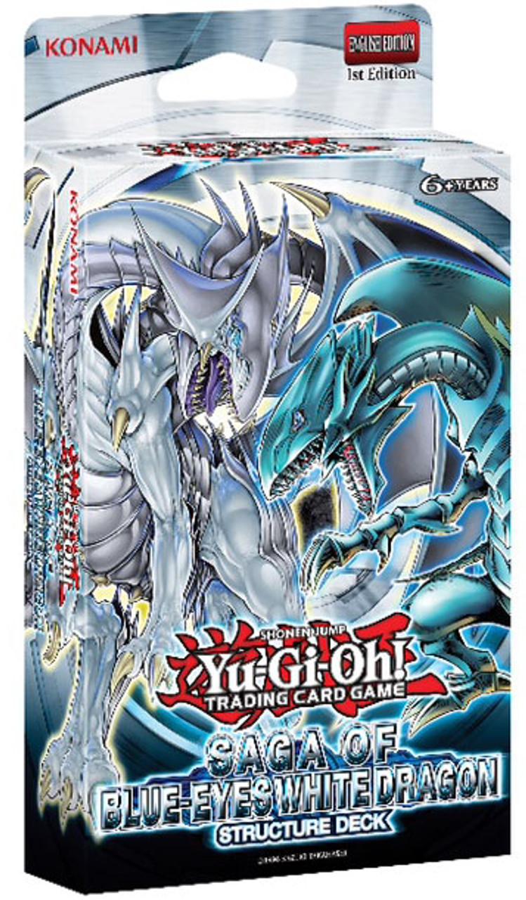 YuGiOh Saga of Blue-Eyes White Dragon Structure Deck Saga of Blue-Eyes White Dragon Structure Deck [1st Edition]