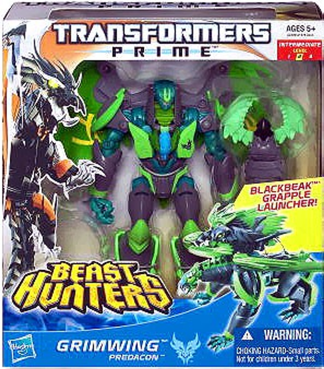 Transformers Prime Beast Hunters Grimwing Voyager Action Figure