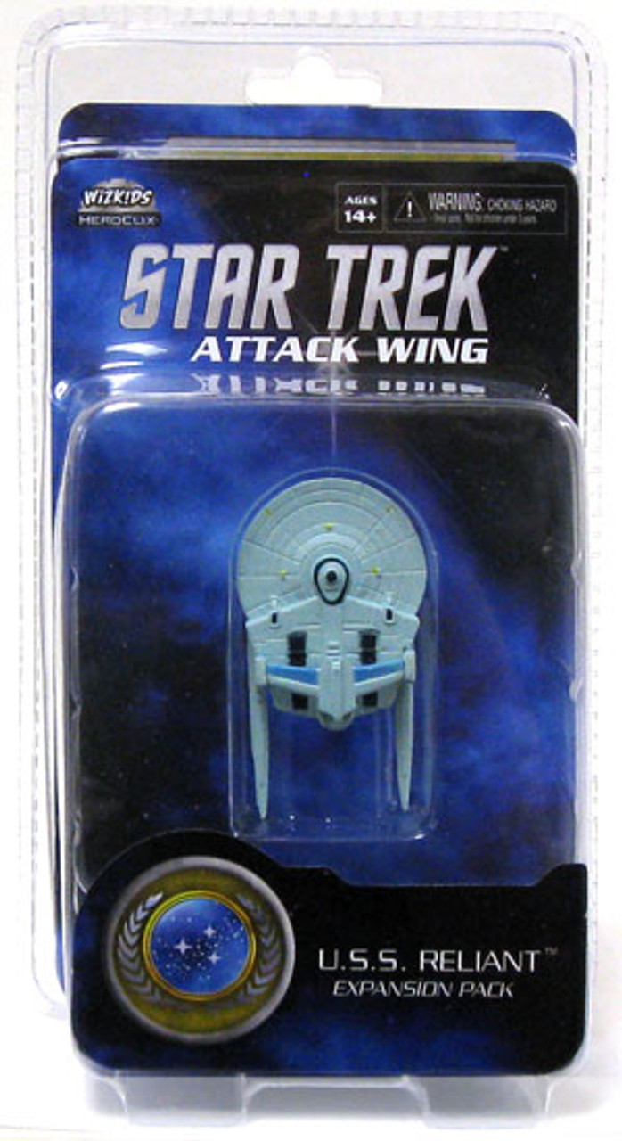 Star Trek Attack Wing Wave 0 Federation U.S.S. Reliant Expansion Pack