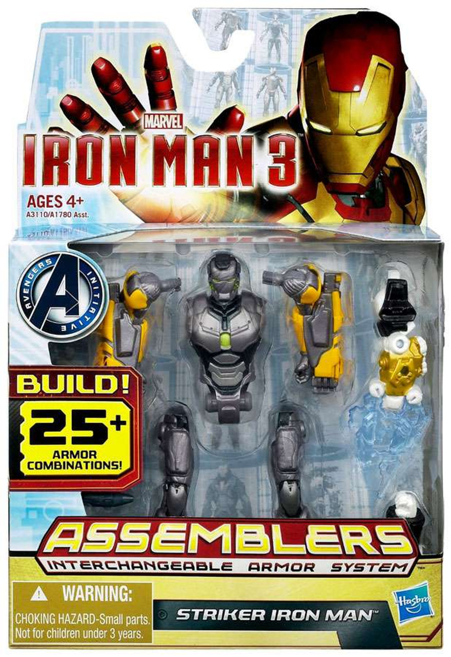 Iron Man 3 Assemblers Striker Iron Man Action Figure
