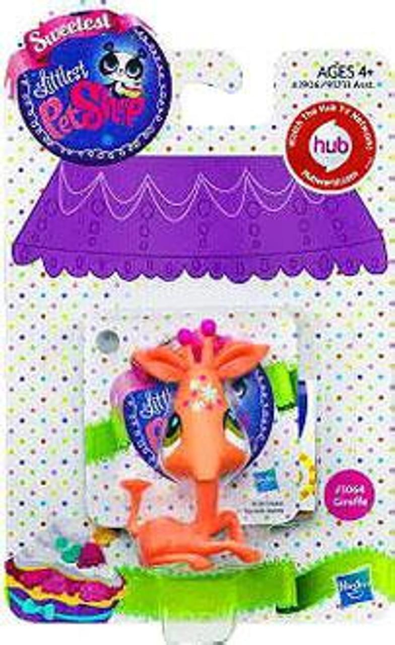 Littlest Pet Shop Sweetest Giraffe Figure #3064
