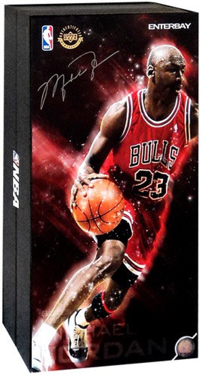 NBA Chicago Bulls Masterpiece Michael Jordan 1/6 Collectible Figure #23 [Red Uniform Road Edition]