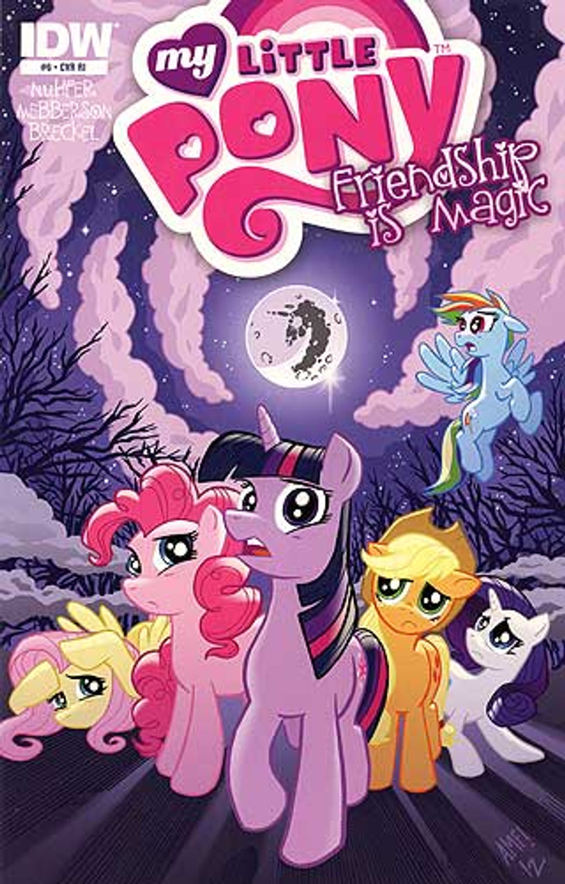My Little Pony Friendship is Magic Comic Book #6 [Retailer Incentive]