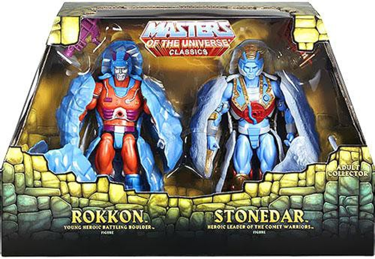 Masters of the Universe Classics Rokkon & Stonedar Exclusive Action Figure 2-Pack