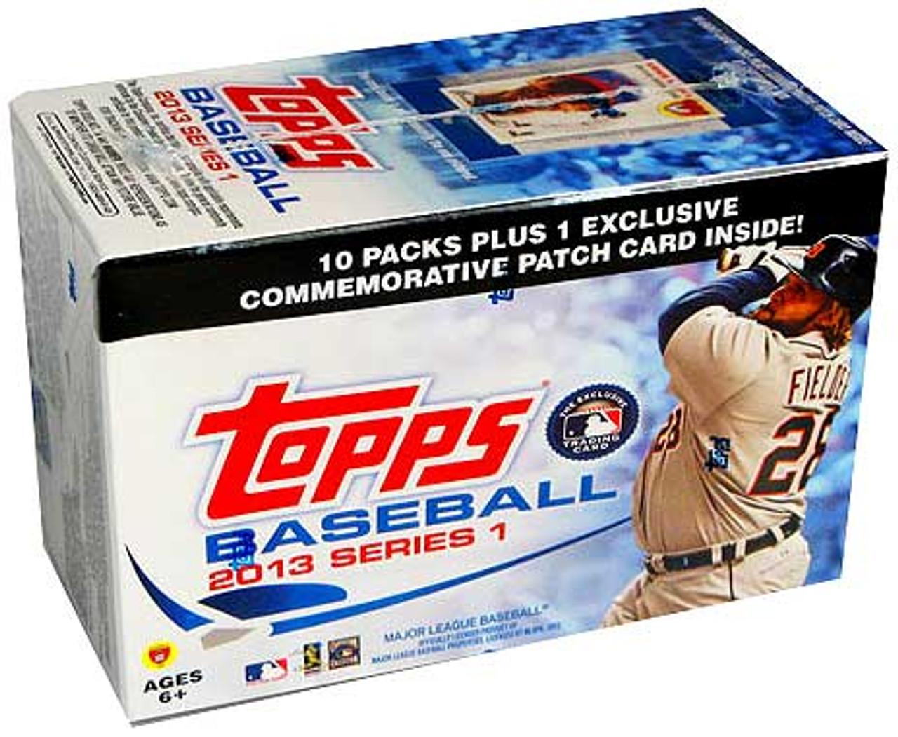 MLB 2013 Topps Series 1 Baseball Cards Trading Card Blaster Box