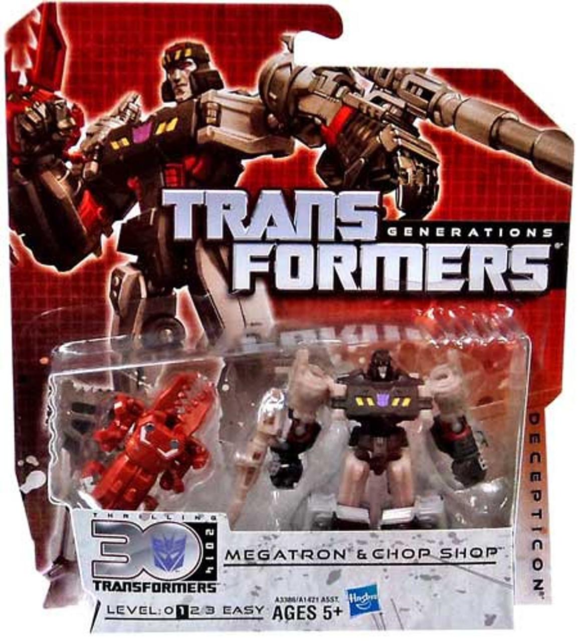 Transformers Generations 30th Anniversary Legends Megatron & Chopshop Legend Action Figure 2-Pack