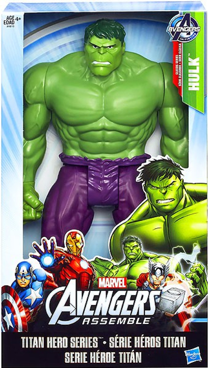 Marvel Avengers Assemble Titan Hero Series Hulk Action Figure