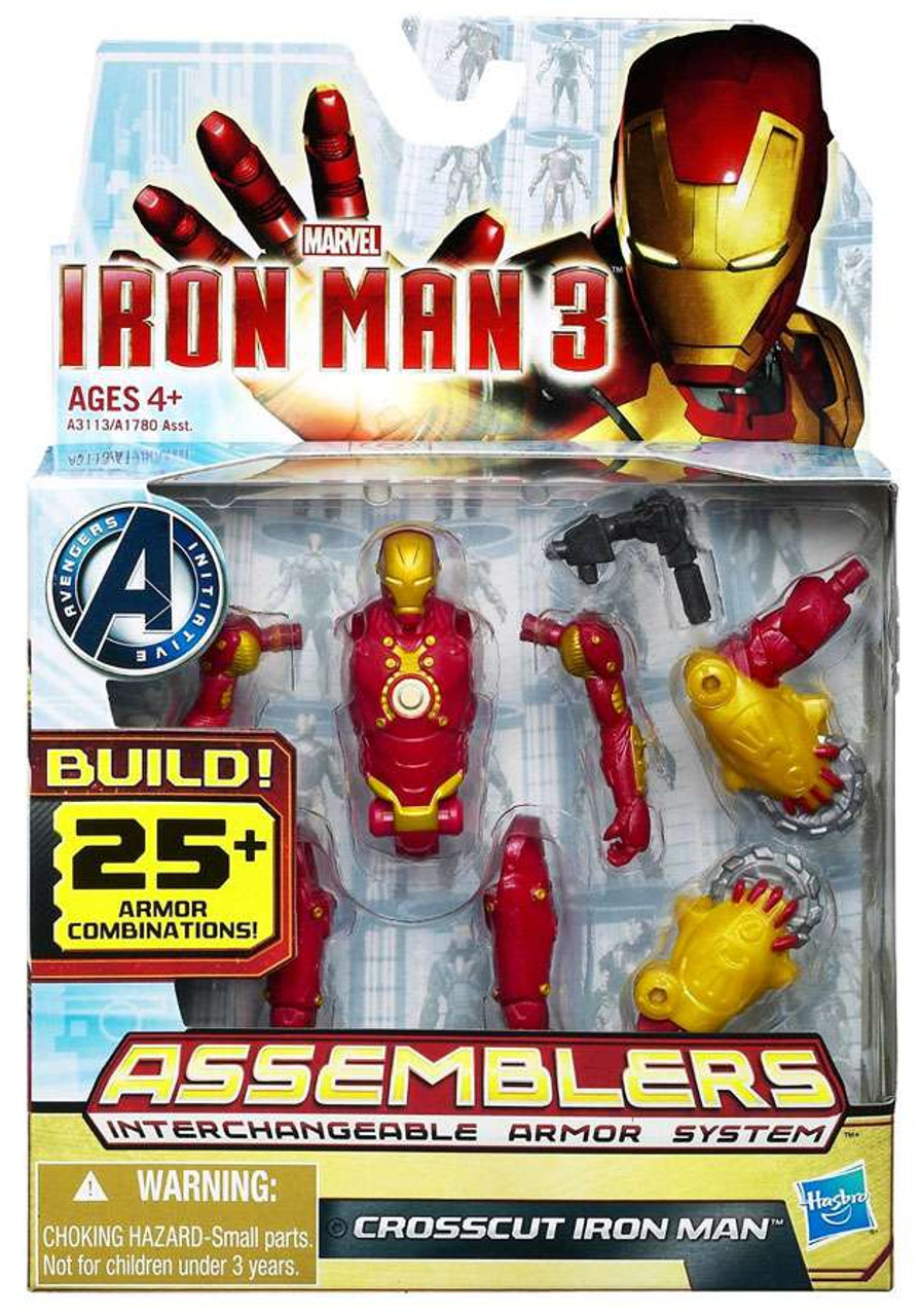 Iron Man 3 Assemblers Crosscut Iron Man Action Figure