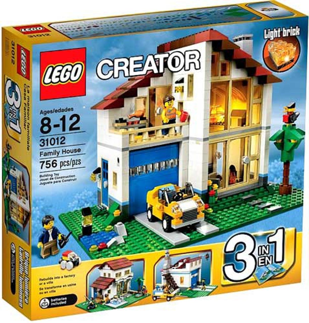 LEGO Creator Family House Set #31012