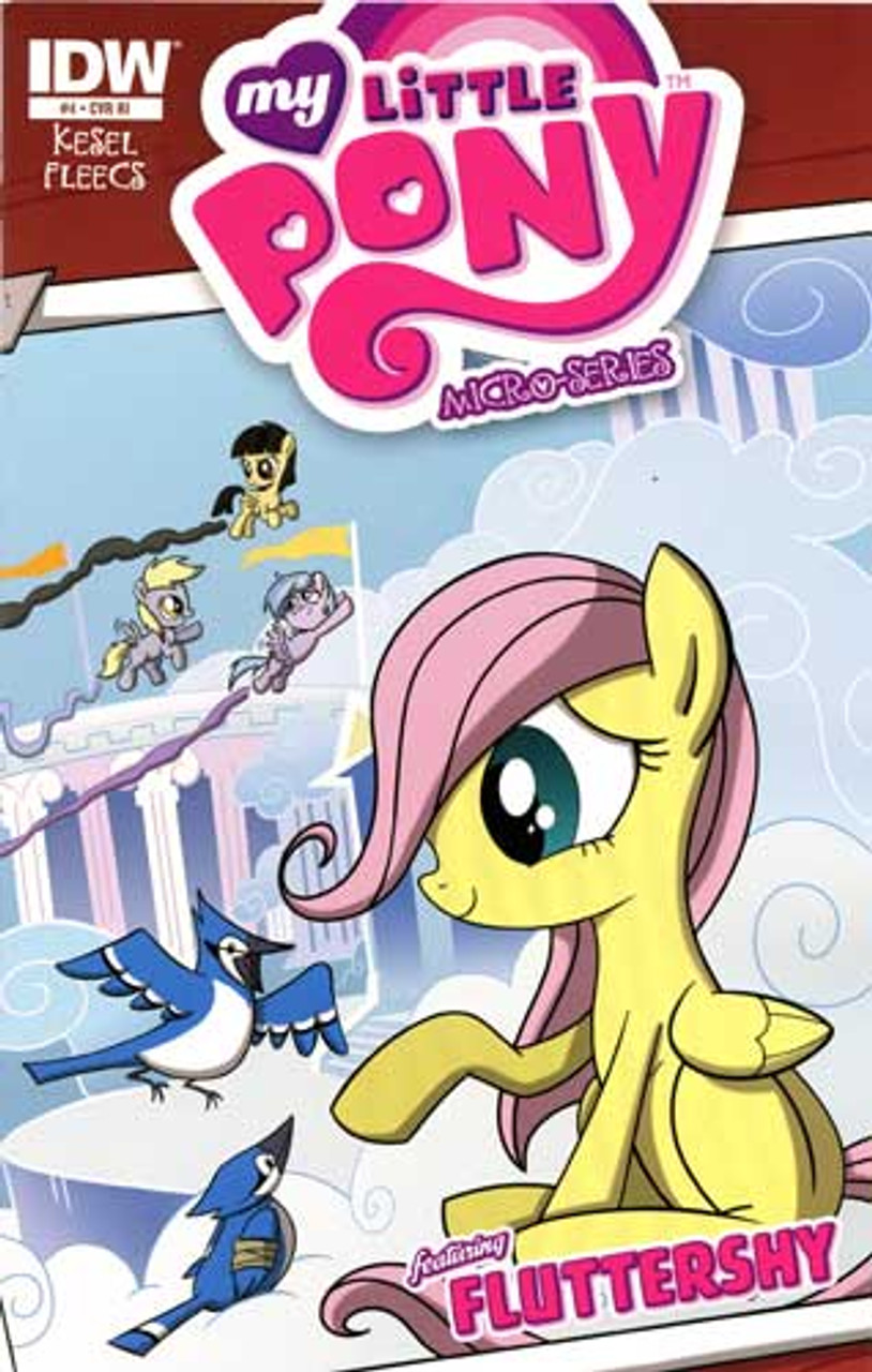 My Little Pony Micro-Series Featuring Fluttershy Comic Book #4 [Retailer Incentive]