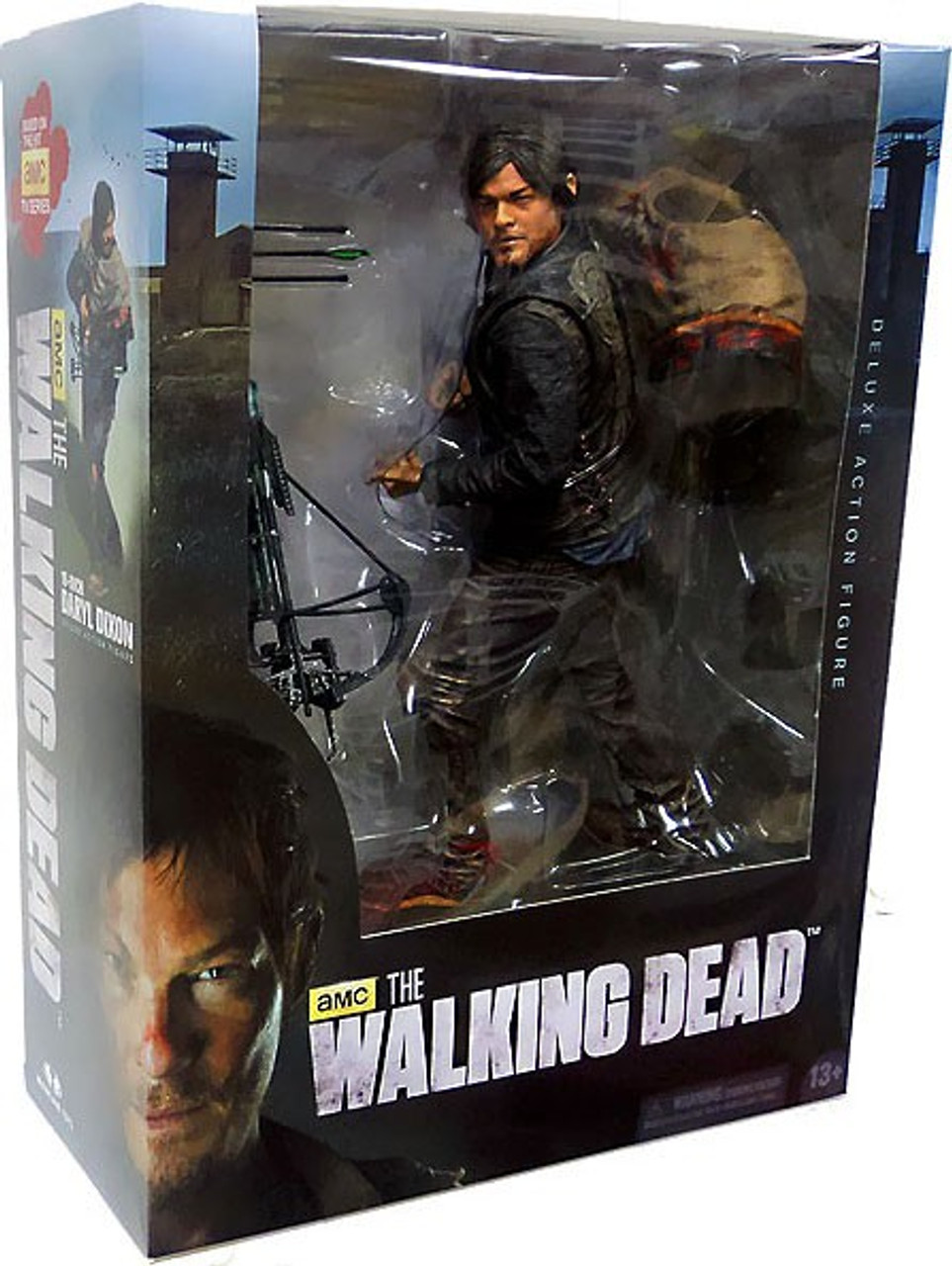 McFarlane Toys Walking Dead AMC TV Daryl Dixon Deluxe Action Figure