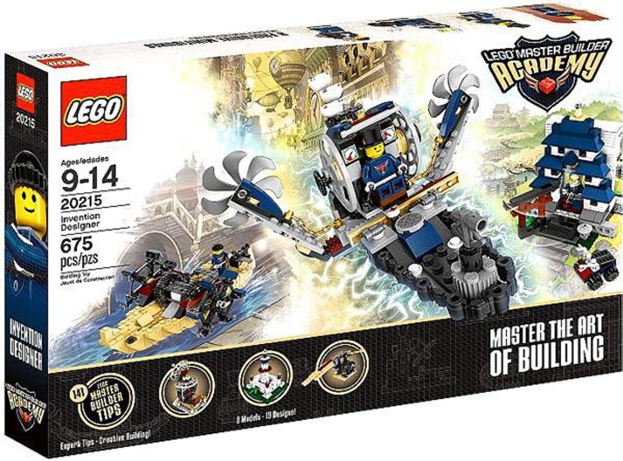 LEGO Master Builder Academy Invention Designer Set #20215
