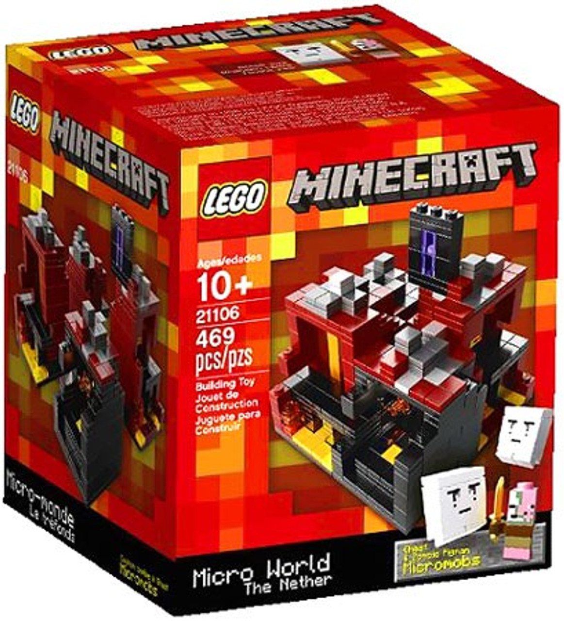 LEGO Minecraft Micro World The Nether Set #21106