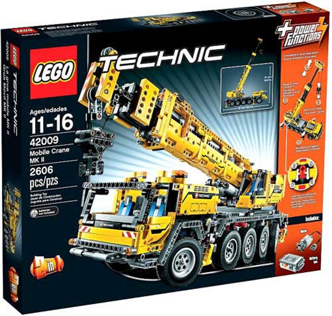 LEGO Technic Power Functions Mobile Crane MK II Set #42009