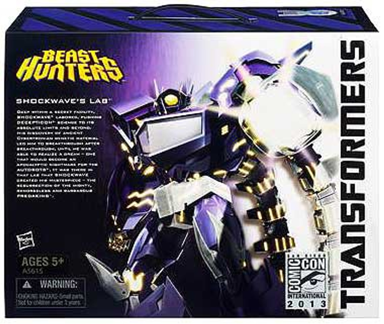 Transformers Beast Hunters Exclusives Shockwave's Lab Exclusive Action Figure