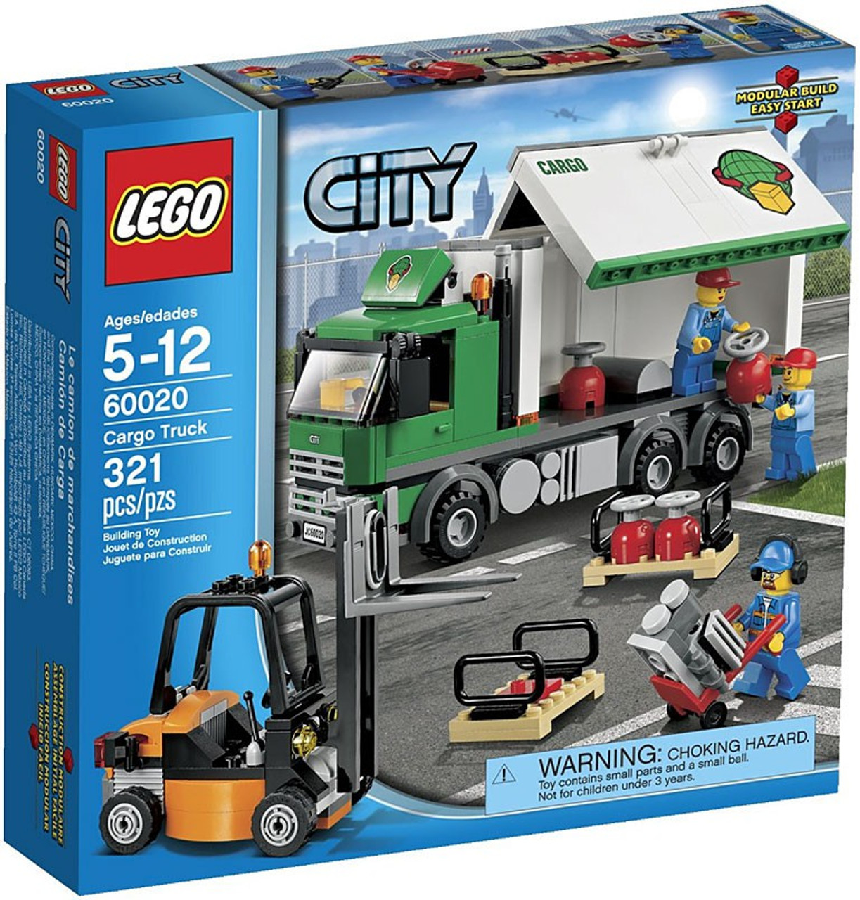 LEGO City Cargo Truck Set #60020