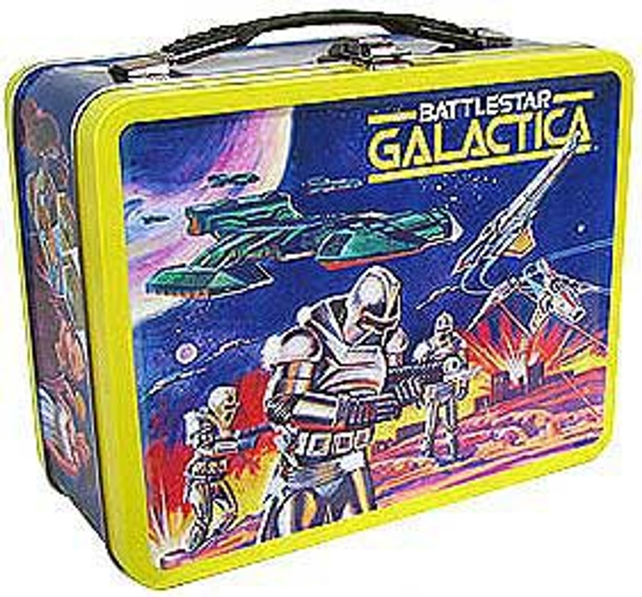 Battlestar Galactica Tin Tote Gift Set Exclusive Figure Set