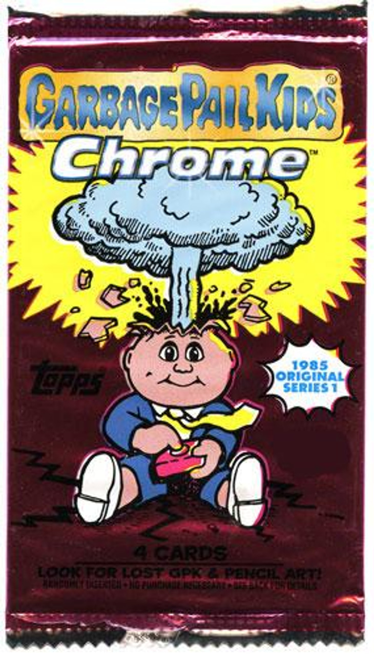 Garbage Pail Kids 2013 Chrome Trading Card Pack [Retail Edition]
