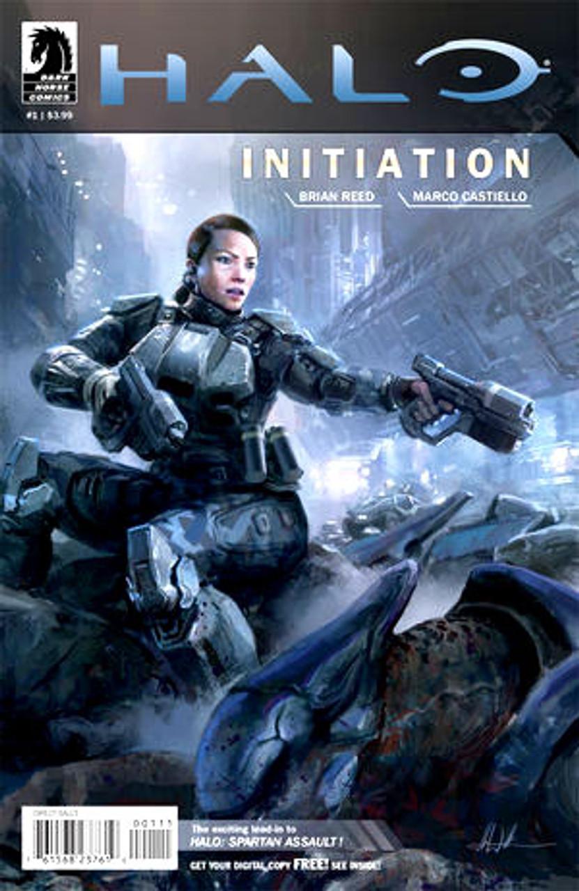 Halo Initiation Comic Book #1 [John Liberto cover]