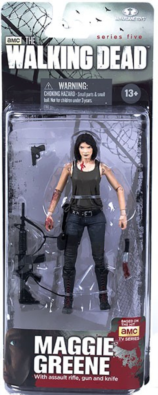 McFarlane Toys Walking Dead AMC TV Series 5 Maggie Greene Action Figure