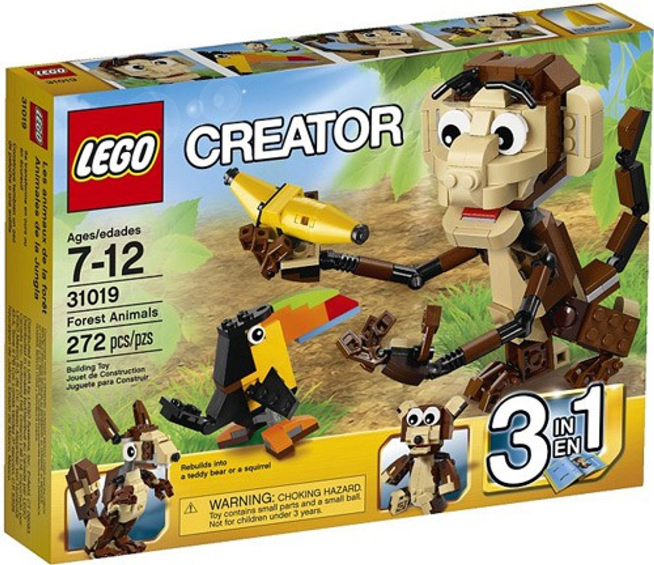 LEGO Creator Forest Animals Set #31019