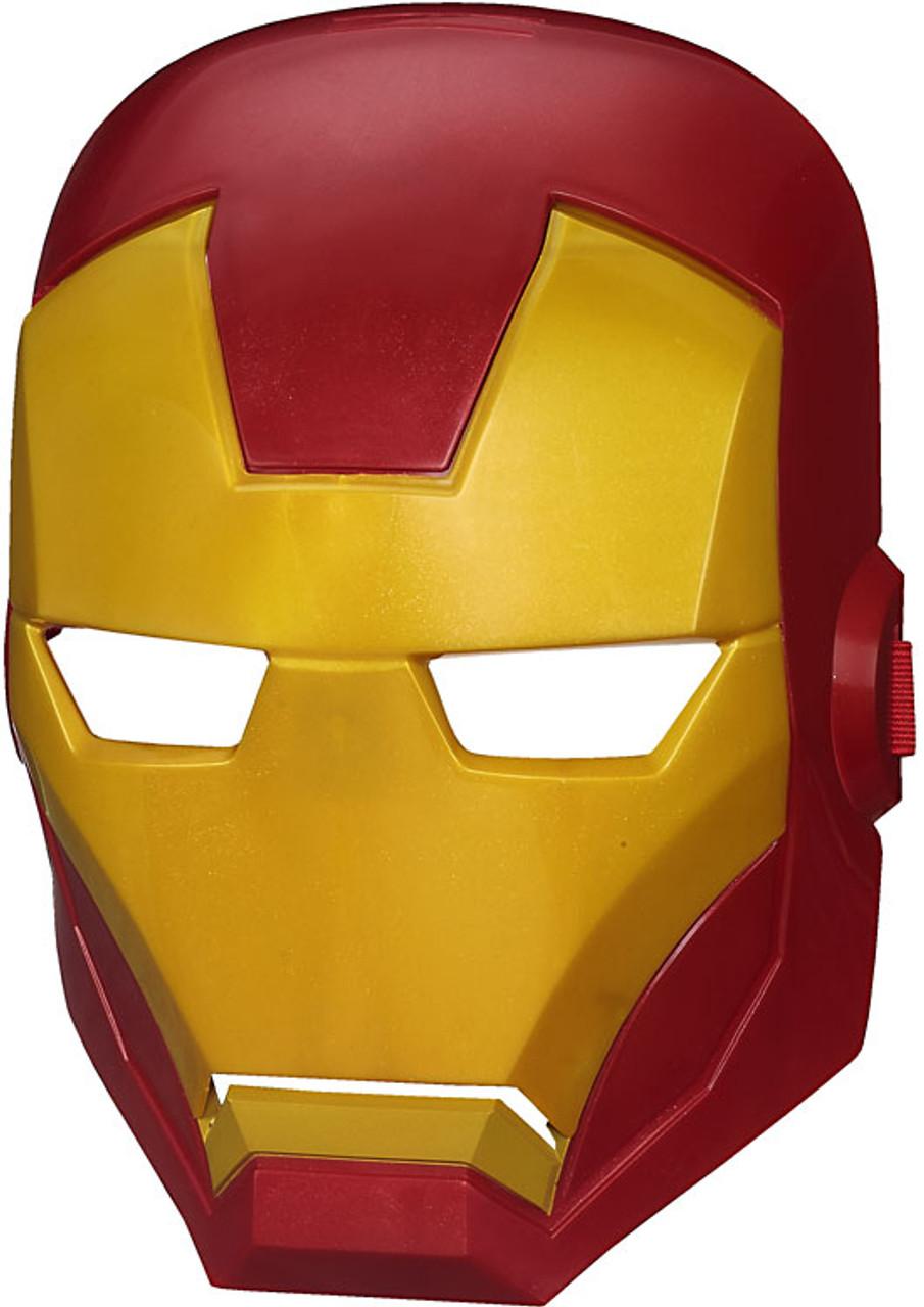Marvel Avengers Assemble Iron Man Mask