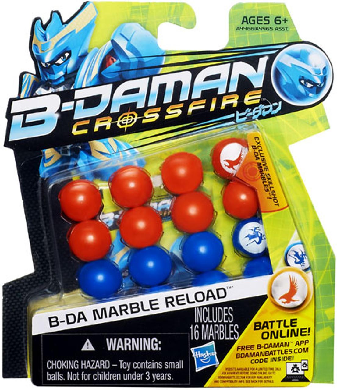 B-Daman Crossfire B-DA Marble Reload [Orange & Blue]