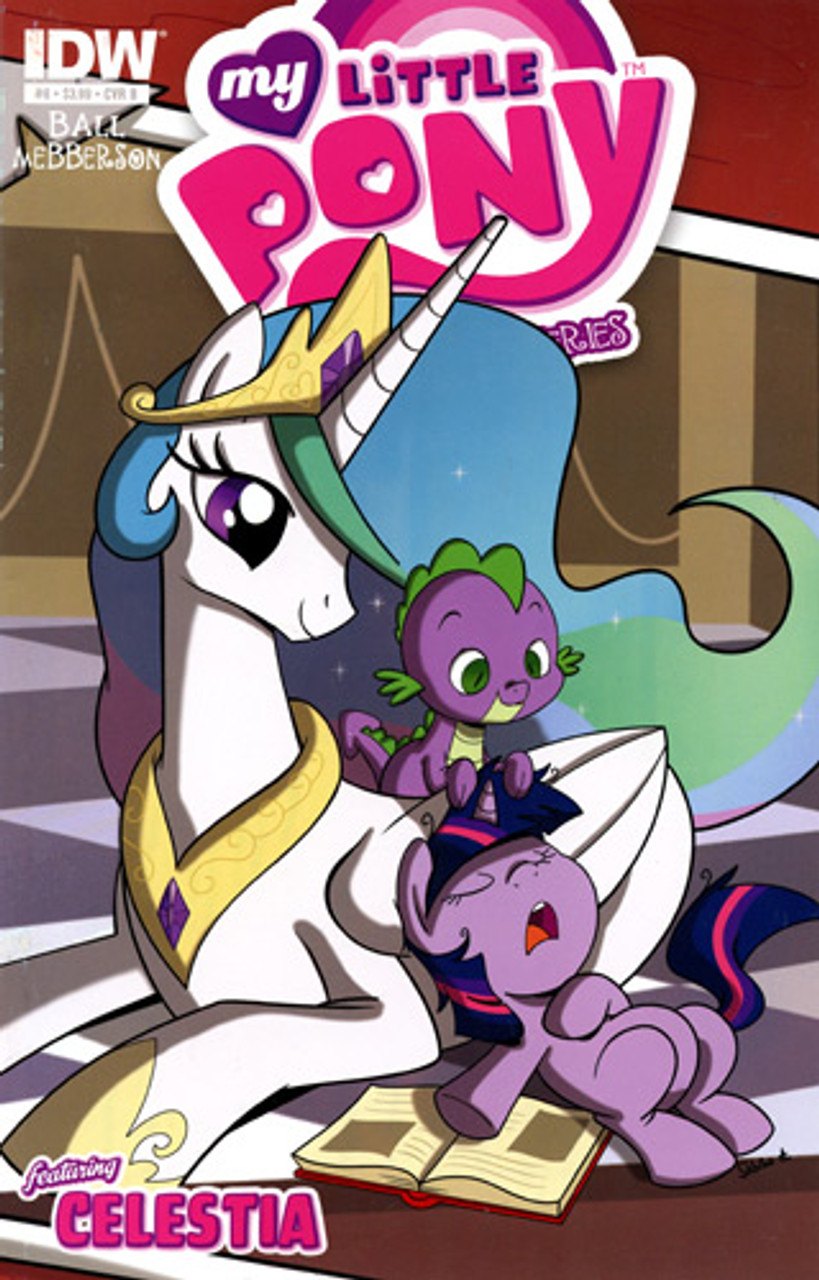 My Little Pony Micro-Series Featuring Celestia Comic Book #8 [Cover B]