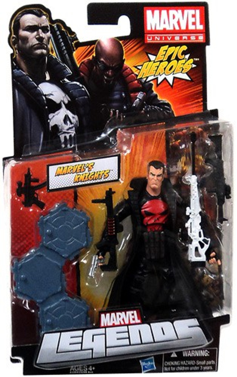Marvel Legends 2012 Series 3 Epic Heroes Marvel's Knights Action Figure [Punisher Red Shirt Variant]