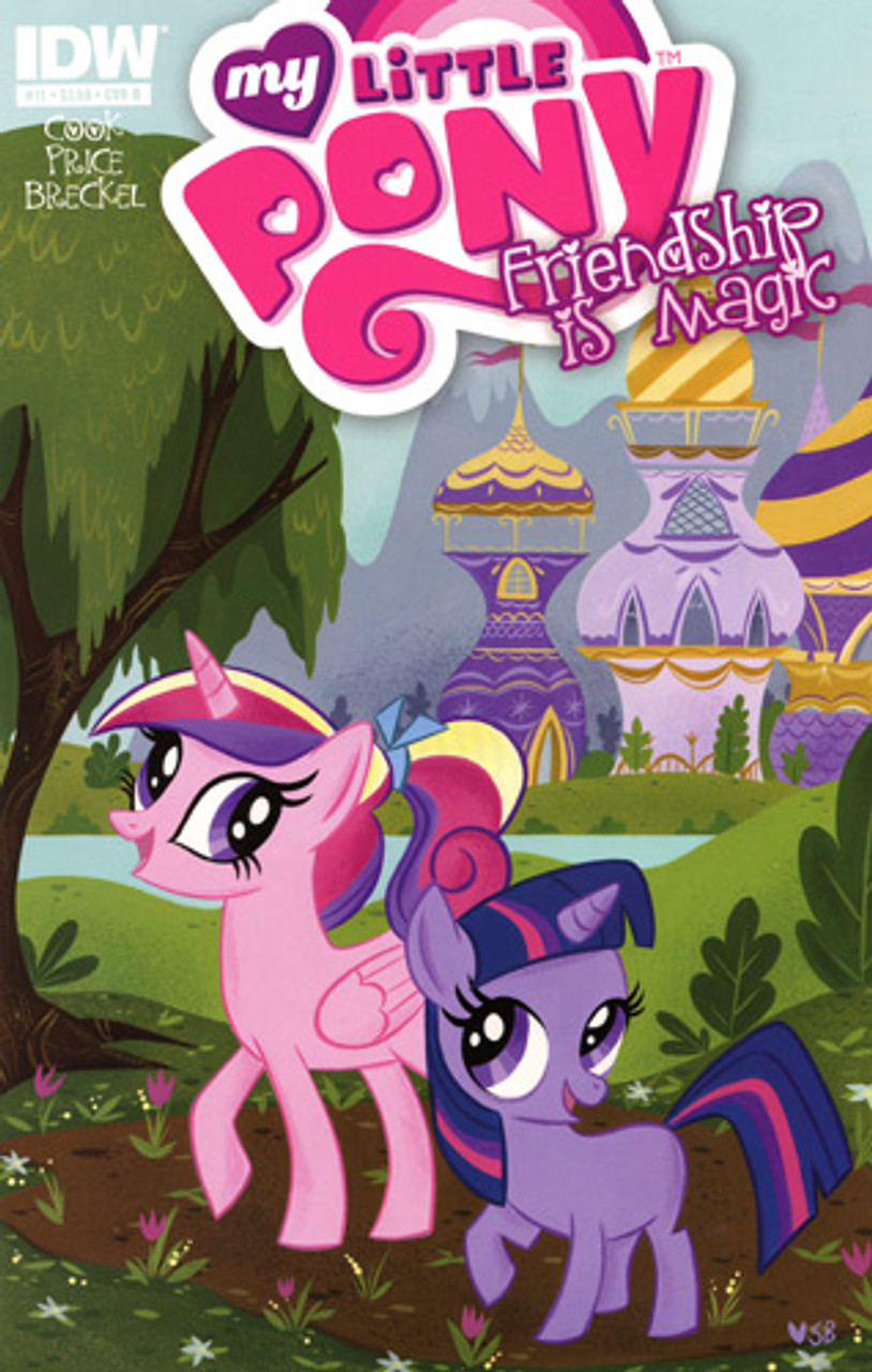 My Little Pony Friendship is Magic Comic Book #11 [Cover B]