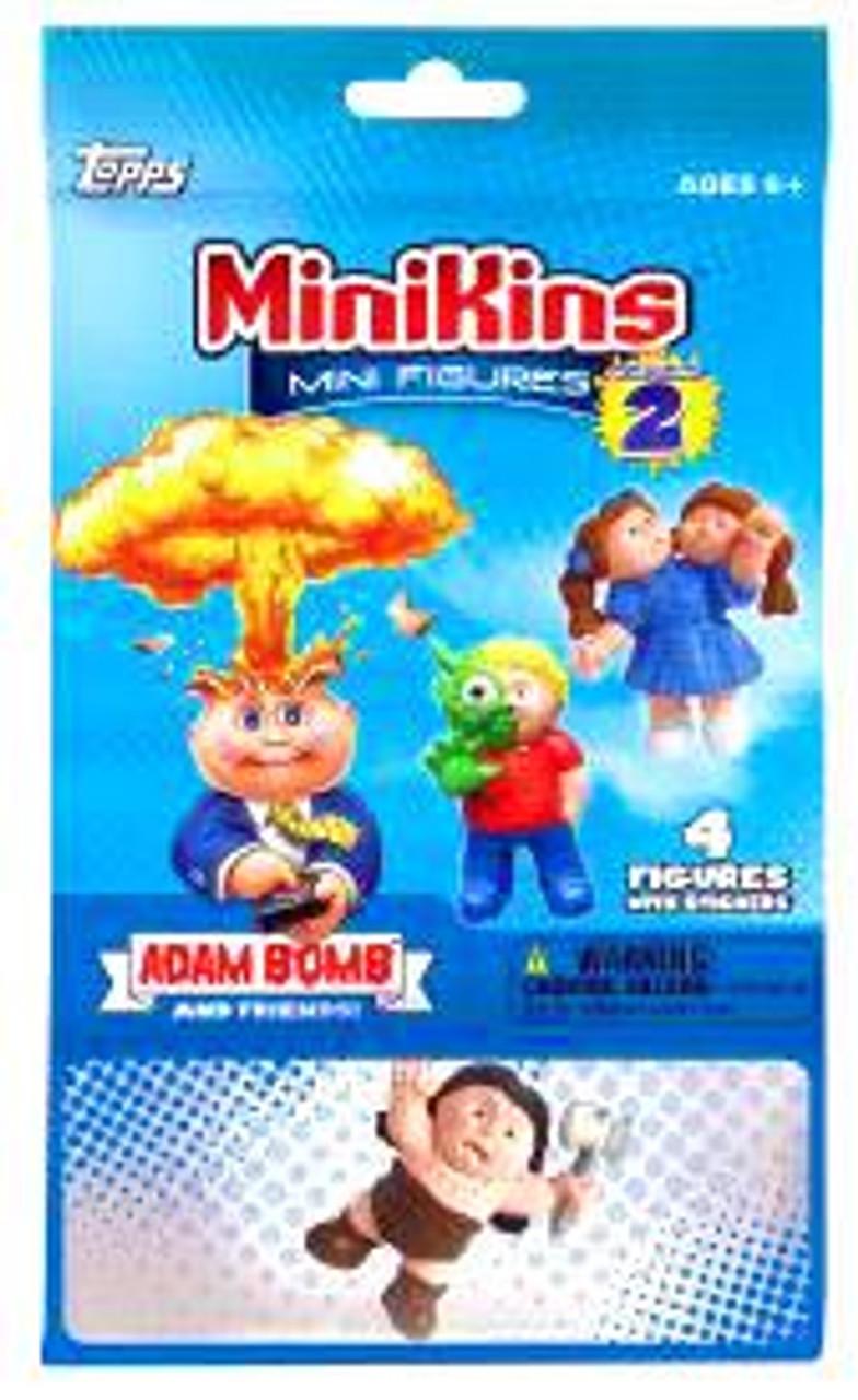 Garbage Pail Kids MiniKins Series 2 Mini Figure Mystery Pack [4 Figures Per Pack]