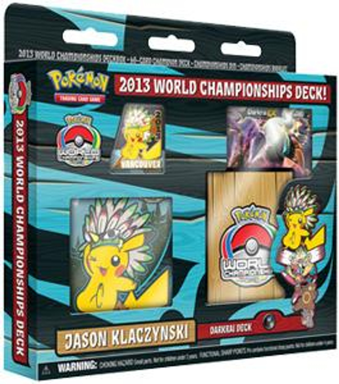 Pokemon World Championships Deck 2013 Jason Klaczynski's Darkrai Deck